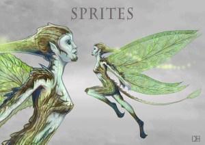 Sprites of Gaian