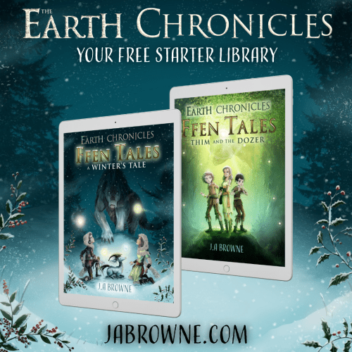 The Earth Chronicles mini series Ffen Tales - free ebooks available - just enter your email address and tell me where to send your Starter Library
