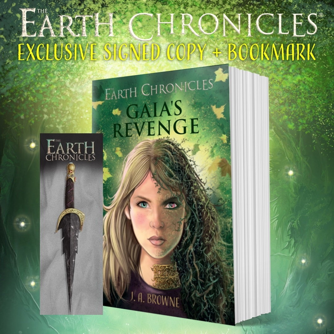 Gaia's Revenge Book Two in the epic fantasy series The Earth Chronicles