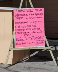 Some great options on this Thanksgiving menu!