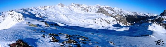 Panorámica desde el Pico Astún