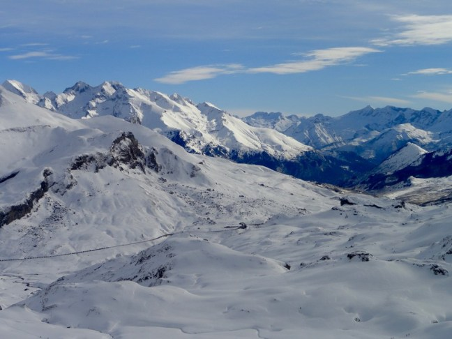 Vista del Portalet, desde el Col d' Aneou