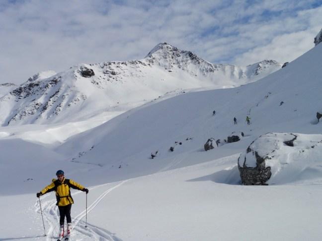 Final de la bajada del Col d' Aneou