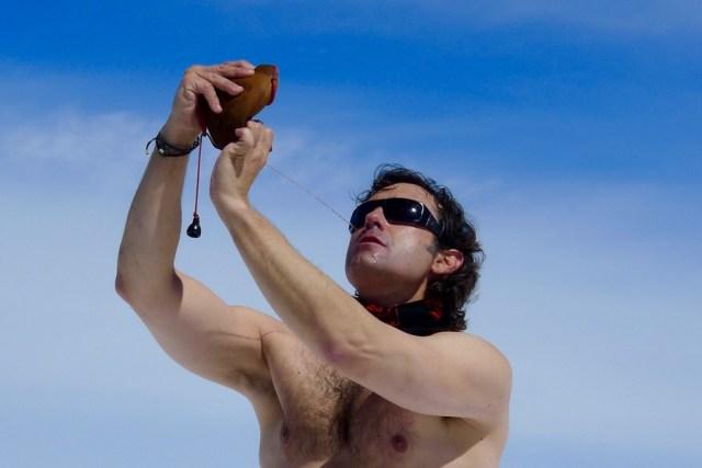 Jose Carlos nos muestra como se bebe en bota