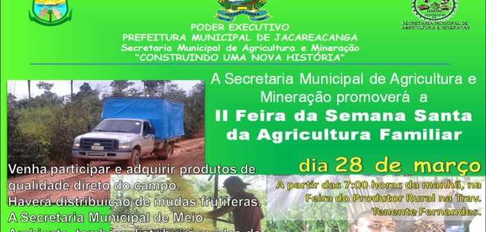 II Feira da Agricultura Familiar de Jacareacanga