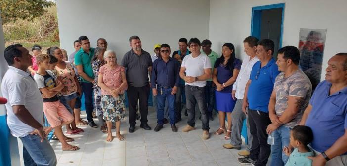 Prefeito Raimundo Batista Santiago Entregou o Posto Médico da Comunidade do Mamãe-Anã