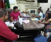 Prefeito Raimundo Batista Santiago recebeu lideranças da aldeia muiuçú do Rio Cururu