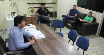 Prefeito Raimundo Batista Santiago Recebeu Servidores do TRE – PA