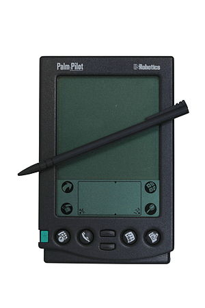 Palm pilot PDA before iPhone, how to design the next iphone