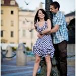 Sesja narzeczeńska – Renata i Jacek