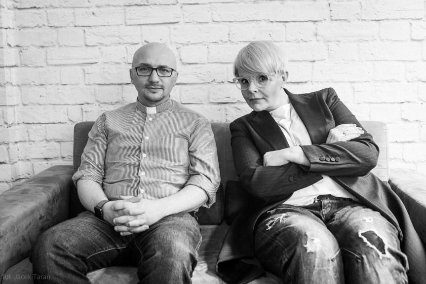 Karolina Korwin Piotrowska, Grzegorz Kramer, fot. Jacek Taran