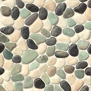 Seashell and Pebble Mosaics