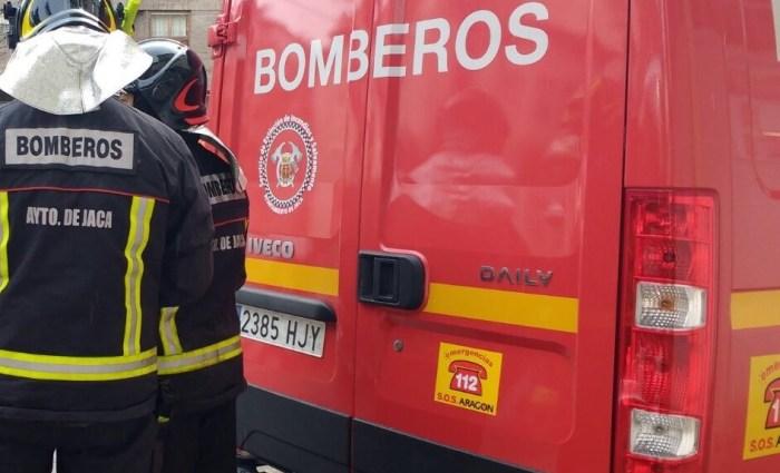 Cinco miembros del servicio de emergencias del Ayuntamiento de Jaca pasarán a integrarse al Servicio Provincial de Incendios, según la DPH. (FOTO: Rebeca Ruiz)