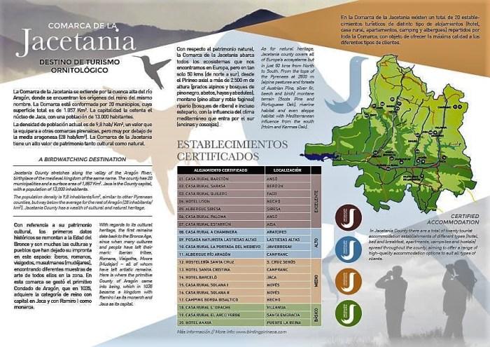 folleto t_ ornitológico