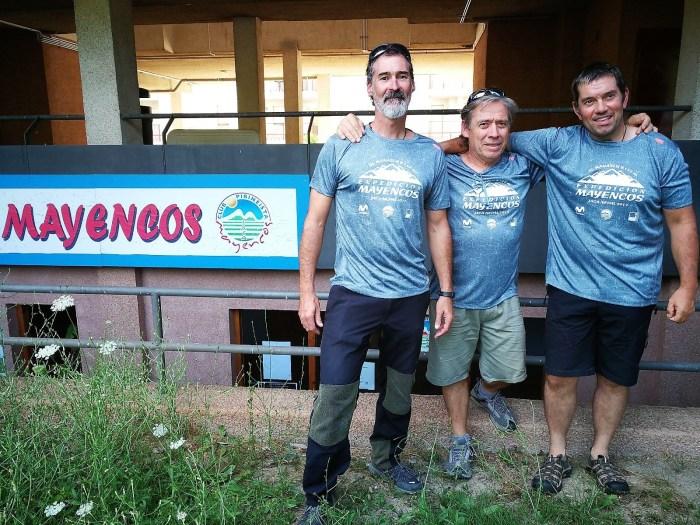 David Orna, Luis Rodríguez y Pedro García
