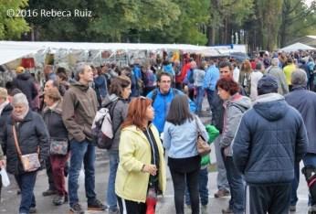 Ambiente en la zona comercial (FOTO: Rebeca Ruiz)