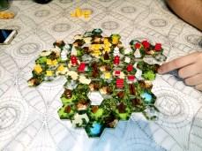 jugando a Taluva