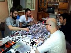 jugando zombicide