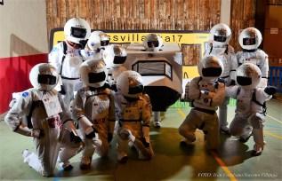 Astronautas. (FOTO: Iván Escribano)