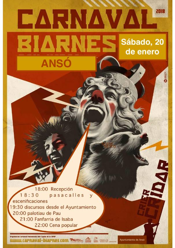 carnaval bearnes anso 2018