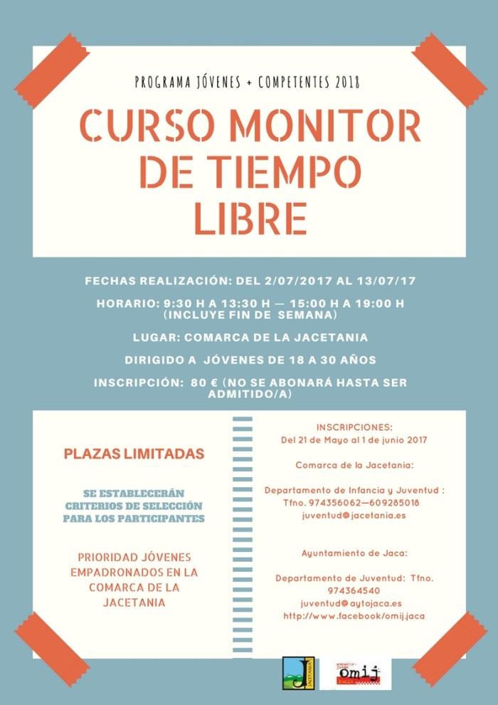 Cartel Monitor Tiempo Libre 2018
