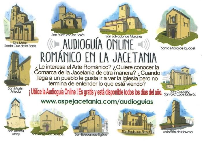 audioguía online patrimonio JACETANIA