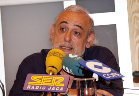 Miguel Ángel Lucía. (FOTO: Rebeca Ruiz)