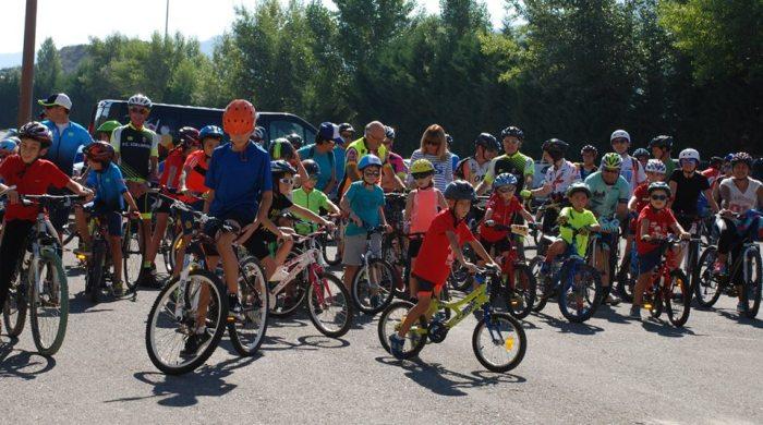 Día del pedal Sabiñánigo Edelweiss