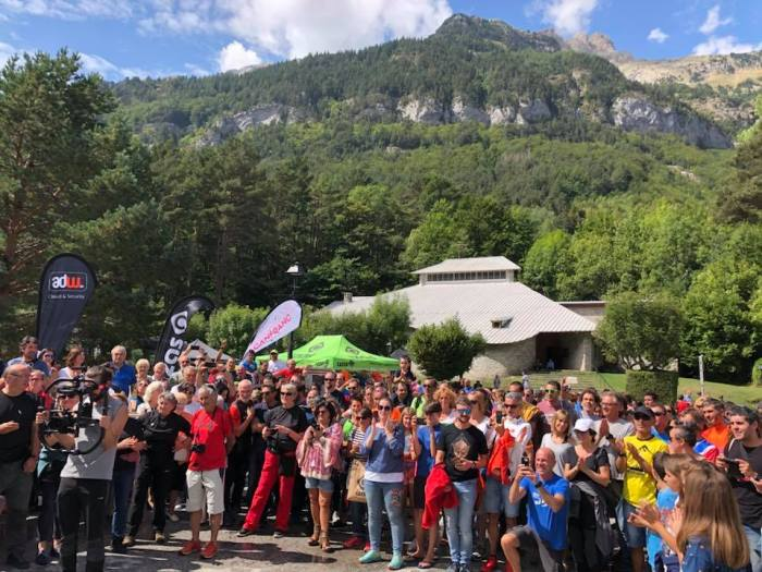 CANFRANC-CANFRANC. Ambiente en 2018.