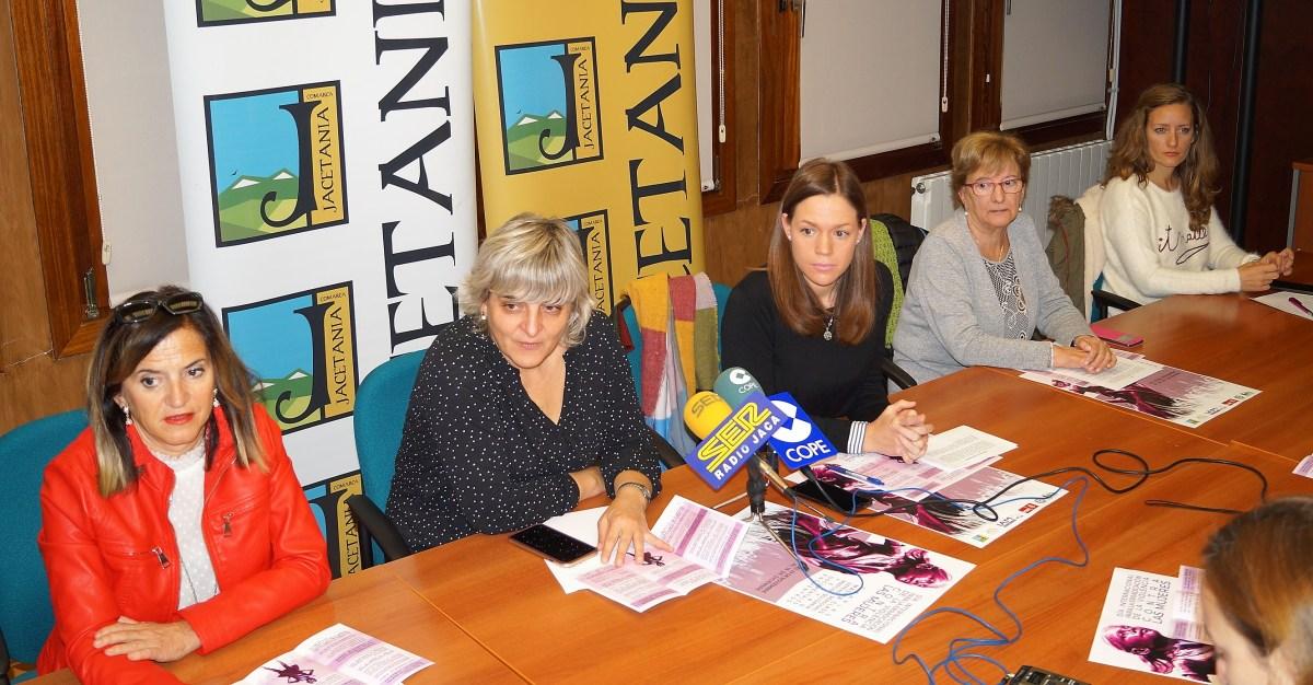La Jacetania se une en la lucha para erradicar la violencia contra las mujeres