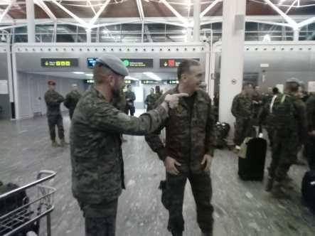 Militares Líbano. Tercer vuelo (6)
