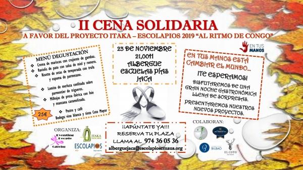 Noviembre solidario en el colegio Escuelas Pías de Jaca