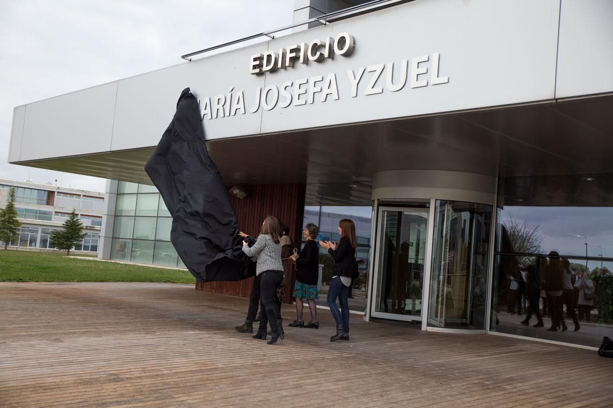 El nombre de María Josefa Yzuel ya luce en Walqa