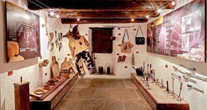 DÍA DE LOS MUSEOS. Una de las salas del Museo Ángel Orensanz.