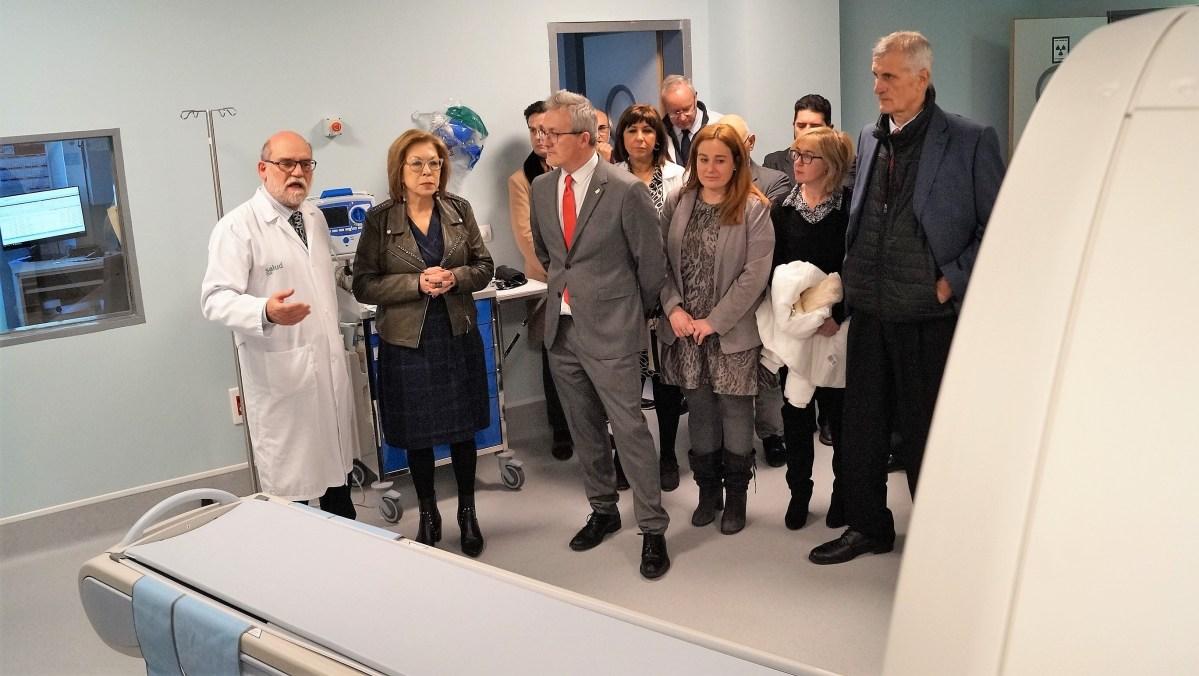 """Comienza a funcionar el nuevo TAC del Hospital de Jaca que, según su directora, """"ya no tiene carencias"""""""