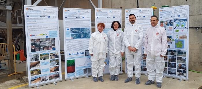 Éxito del ensayo para la  descontaminación del lindano