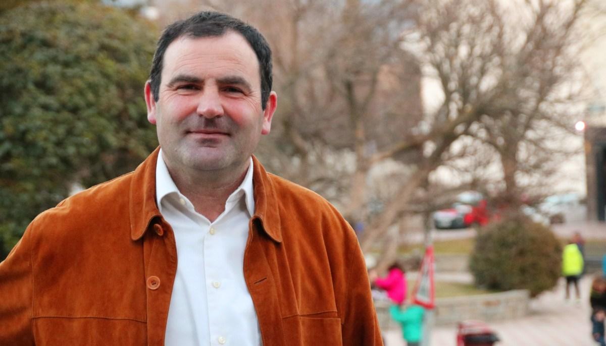 Francisco Santolaria, candidato del PP a la Alcaldía de Sabiñánigo