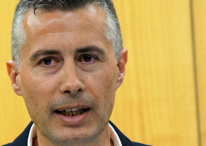 PP. Carlos Serrano, portavoz del PP de Jaca. (FOTO: Rebeca Ruiz)