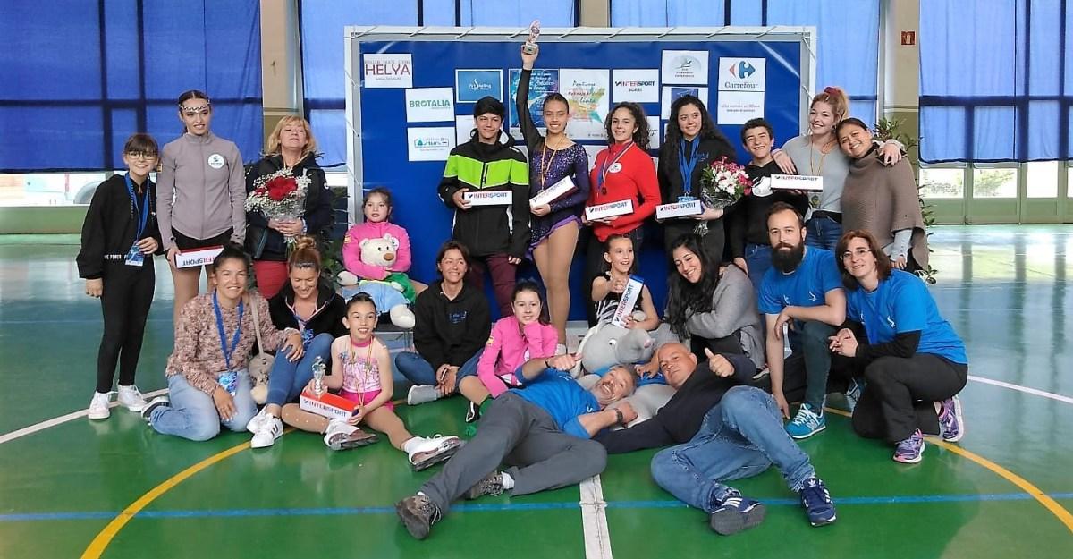 El Club Art Skating Pirineo, en lo más alto en el Campeonato de España y el Open de Panticosa