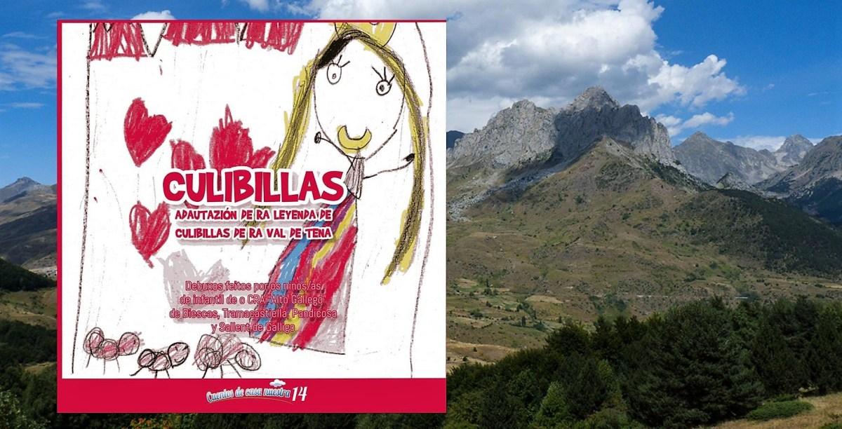 Escolares de Biescas, Tramacastilla, Sallent y Panticosa ilustran un cuento en aragonés sobre Culibillas