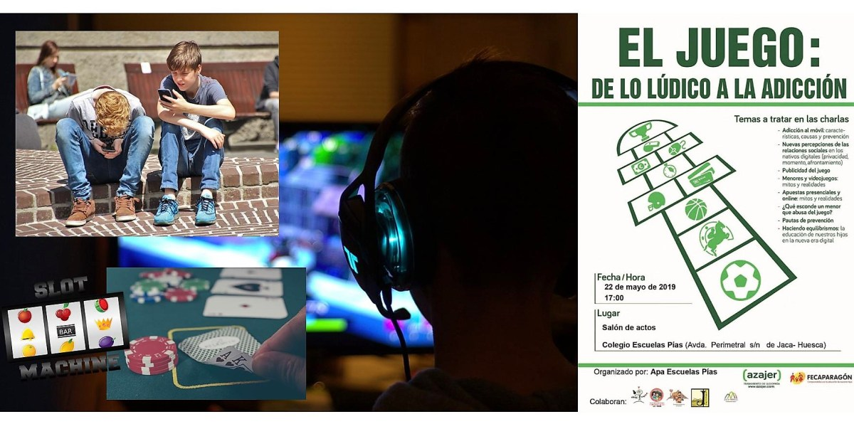 El colegio Escuelas Pías de Jaca organiza una charla coloquio dirigida a familias con el título 'El juego: de lo lúdico a la adicción'