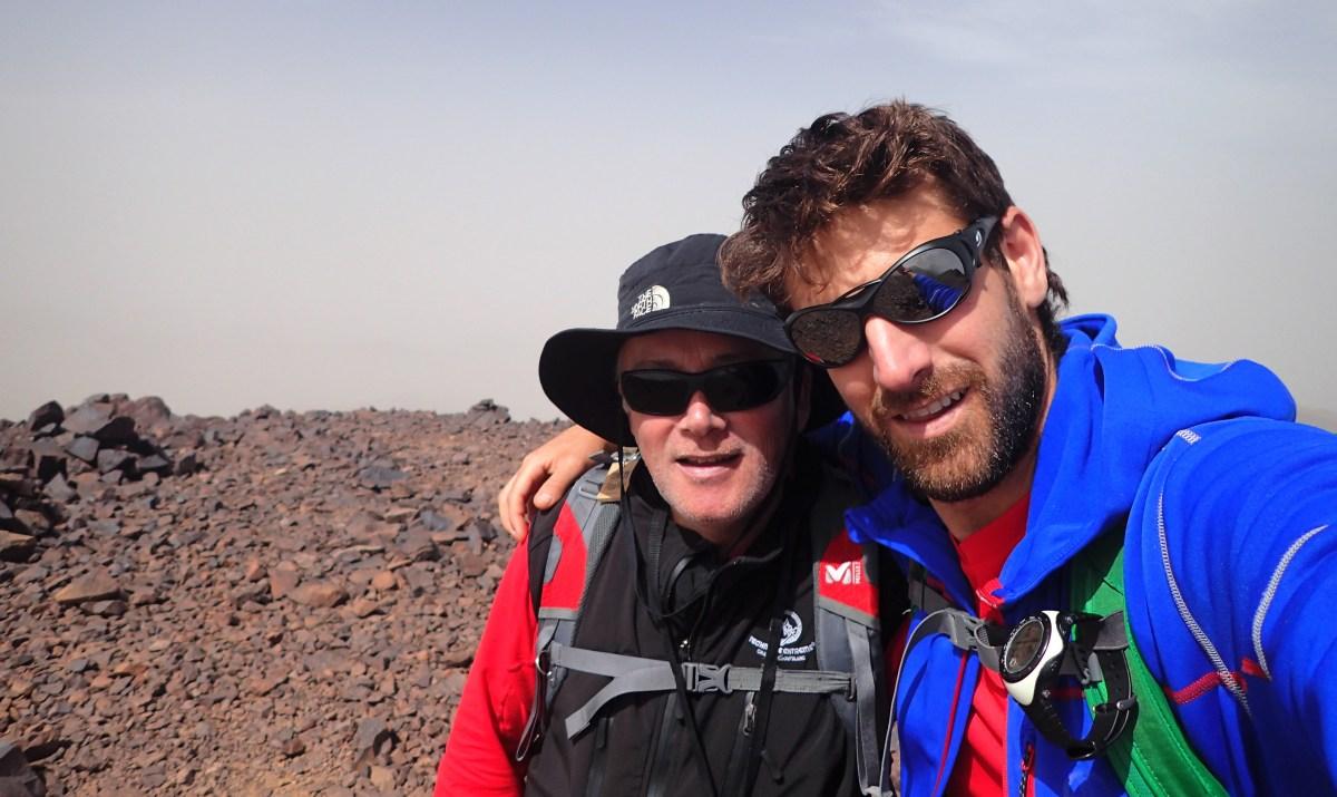 Pedro Fernández y Luis Salvatierra (Club Pirineísta Mayencos), a la conquista del Huascarán