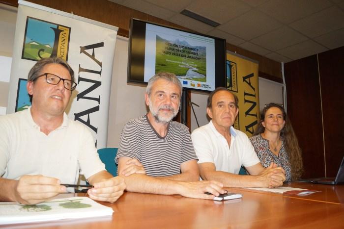 BOSQUES. Presentación del plan de la Jacetania y el Valle del Aragón. (FOTO: Rebeca Ruiz)