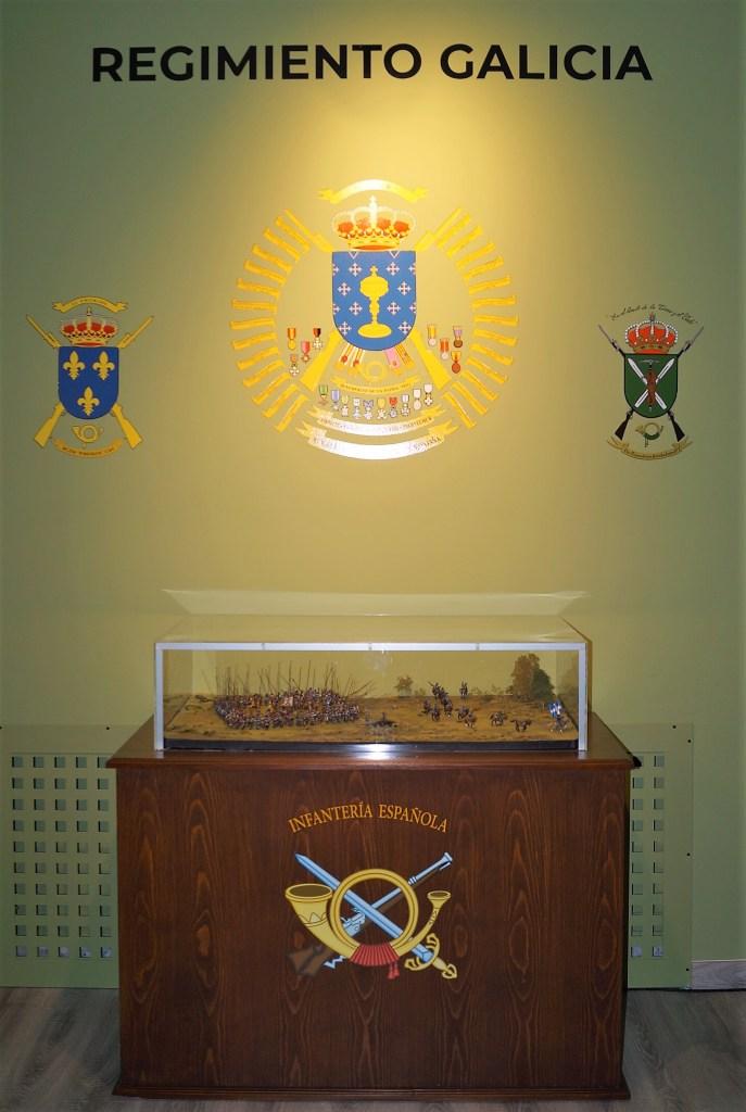 SALA HISTÓRICA. Escudo del Galicia 64. (FOTO: Rebeca Ruiz)