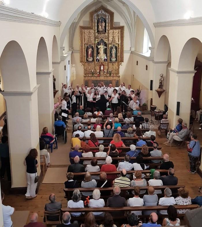 FIESTAS EN CANFRANC PUEBLO. Concierto del Orfeón Jacetano. (FOTO: Rebeca Ruiz)