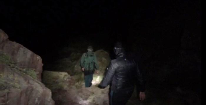 RESCATES. En las últimas horas, la Guardia Civil ha realizado varios rescates. Entre ellos, uno nocturno en Sallent de Gállego.