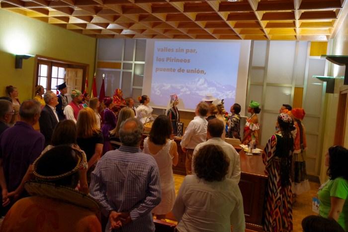 HOMENAJES Y RECUERDOS. Festival Folklórico de los Pirineos 2019.