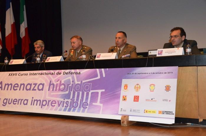 AMENAZA HÍBRIDA. XXVII Curso Internacional de Defensa de Jaca.