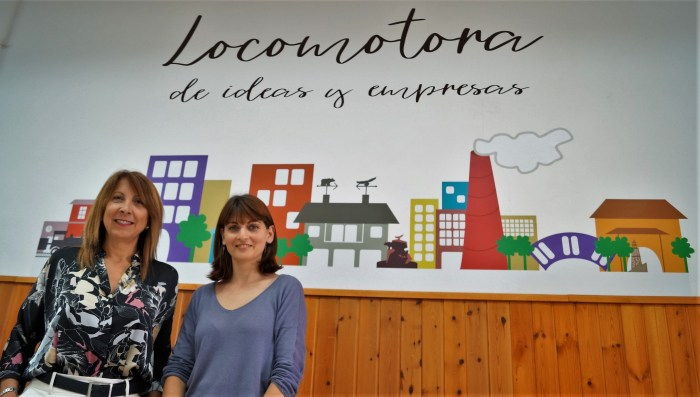 Berta Fernández e Isabel Mañero, en una imagen de archivo. El Ayuntamiento de Sabiñánigo ha concedido 33.000 euros en ayudas a 29 empresas del municipio. (FOTO: Rebeca Ruiz)