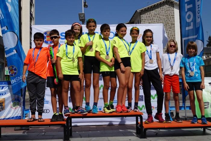 CAMPEONATO DE ESPAÑA DE ROLLERSKI. Campeonato de España de Rollerski Trofeo Ciudad de Jaca (FOTO: Rebeca Ruiz)